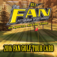 The Fan Golf Tour Card
